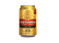 Lata Club Colombia Dorada