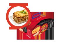 Menú Inf. Lasagna