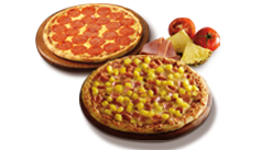 70% Dto segunda Pizza